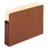 "Pendaflex Extra Strong File Pocket - Letter - 8 1/2"" x 11"" Sheet Size - 5 1/4"" Expansion - Red Fiber - Red - 50 / Carton"