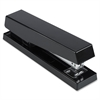 Business Source Desktop Stapler - 20 Sheets Capacity - 210 Staple Capacity - Full Strip - Black