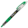 Sharpie Accent Pen-Style Liquid Highlighter - Micro Point Type - Chisel Point Style - Fluorescent Green Pigment-based Ink - 1 Each
