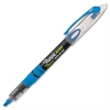 Accent Pen-Style Liquid Highlighter - Micro Point Type - Chisel Point Style - Fluorescent Blue Pigment-based Ink - 1 Each