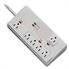 Compucessory 6-Outlet Surge Suppressor - 6 Receptacle(s) - 2160 J