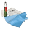 Compucessory Microfiber Cloth Screen Cleaner Kit - For Display Screen, Notebook - 0.85 fl oz - Alcohol-free - 1 Kit - Blue