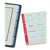 "Printable Laser Tab - 80 Print-on Tab(s) - 0.87"" Tab Height x 2"" Tab Width - Self-adhesive, Permanent - White Plastic Tab(s) - 80 / Pack"