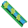 "Pop-Its Frogs Border - Frog - Die-cut, Easy to Use - 3"" Height x 24"" Width - Assorted - 8 / Pack"