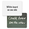 "ChenilleKraft 2-in-1 Board Chalk/Whiteboard Combo - 12"" (1 ft) Width x 9"" (0.8 ft) Height - Rectangle - 1 Each"
