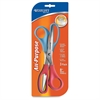 "Westcott 8"" Straight All-purpose Value Scissors - 8"" Overall Length - Straight-left/right - Stainless Steel - Assorted"