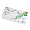 Medline Aloetouch Examination Gloves - X-Large Size - Nitrile - Green - Textured, Powder-free, Latex-free - For Healthcare Working - 100 / Box