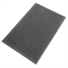 "Eternity Mat - Indoor - 72"" Length x 48"" Width - Plastic, Rubber - Charcoal Gray"