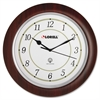 Lorell Radio Control Wall Clock - Analog - Quartz - Atomic