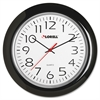 "Lorell 13-1/4"" Round Quartz Wall Clock - Analog - Quartz"