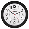 Lorell Radio Controlled Wall Clock - Analog - Quartz - Atomic