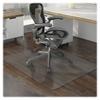 "Lorell Chair Mat - Hard Floor, Wood Floor, Vinyl Floor, Tile Floor - 60"" Length x 46"" Width x 95 mil Thickness - Rectangle - Vinyl - Clear"