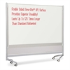 "Balt Mobile Dry Erase Double-sided Partition - 76"" (6.3 ft) Width x 74"" (6.2 ft) Height - Rectangle - Assembly Required - 1 Each"