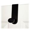 Advantus Over-the-Door Single Hook - 1 Hooks - for Multipurpose - Plastic, Metal - Black - 1 Each