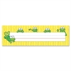 "Carson-Dellosa Frogs Design Desk Name Plate - 1 / Pack - 9.5"" Width x 2.9"" Height - Rectangular Shape - Assorted"