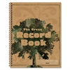 "Carson-Dellosa The Green Spiralbound Record Book - 96 Sheet(s) - Spiral Bound - 11"" x 8.50"" Sheet Size - Recycled - 1 Each"