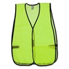 OccuNomix General Purpose Safety Vest - Mesh - Lime - 1 Each