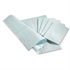 "Medline Standard Poly-backed Tissue Towels - 13"" Width x 18"" Length - Tissue - For Medical - Blue - 500 / Box"