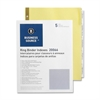 "Business Source Insertable 5-Tab Ring Binder Indexes - 5 x Divider(s) - 5 Tab(s)/Set2"" Tab Width - 8.5"" Divider Width x 11"" Divider Length - Letter - 3 Hole Punched - Buff Divider - Clear Tab(s) - 5 /"