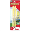 Pentel Handy-line Retractable S-Highlighters - Chisel Point Style - Refillable - Yellow - Plastic Barrel - 2 / Pack