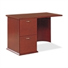 "Lorell Contemporary 9000 Left Return - 42"" x 24"" x 29"" - 2Left Side - Material: Hardwood - Finish: Mahogany, Veneer"