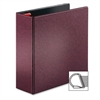 "Prestige Locking Slant-D Ring Binder - 4"" Binder Capacity - Letter - 8 1/2"" x 11"" Sheet Size - 890 Sheet Capacity - 3 x D-Ring Fastener(s) - 2 Inside Front & Back Pocket(s) - Vinyl - Maroon -"