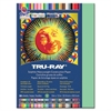 "Tru-Ray Sulphite Construction Paper - 12"" x 9"" - 76 lb Basis Weight - 50 / Pack - Light Green - Sulphite"