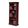 "DMi Keswick Right Hand Facing Bookcase - 33.8"" x 16"" x 80"" - 6 Shelve(s) - Molded Edge - Material: Wood - Finish: Cherry, English Cherry, Veneer"