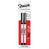 Sharpie 37161PP Ultra Fine Marker - Ultra Fine Point Type - Black - 2 / Pack