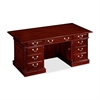 "DMi Keswick 7990-36 Executive Desk - 72"" x 36"" x 30"" - Double Pedestal - Material: Wood - Finish: Cherry, English Cherry, Veneer"