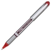 Pentel EnerGel NV Liquid Gel Stick Pen - Medium Point Type - 0.7 mm Point Size - Red Gel-based Ink - Gray Barrel - 12 / Box