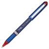 Pentel EnerGel NV Liquid Gel Stick Pen - Fine Point Type - 0.5 mm Point Size - Needle Point Style - Red Gel-based Ink - Blue Barrel - 1 Each