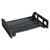 Business Source Side-loading Letter Tray - Desktop - Recycled - Black - 1Each