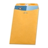 "Business Source Heavy-duty Clasp Envelopes - Clasp - #63 - 6.50"" Width x 9.50"" Length - 28 lb - Clasp - Kraft - 100 / Box - Kraft"