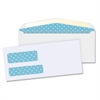 "Business Source Double Window Envelope - Double Window - #9 - 8.88"" Width x 3.88"" Length - 24 lb - 500 / Box - White"