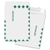 "Business Source Open End Document Mailer - Document - 9"" Width x 12"" Length - Peel & Seal - Tyvek - 100 / Box - White"