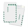 "Open End Document Mailer - Document - 12"" Width x 15.50"" Length - Peel & Seal - Tyvek - 100 / Box - White"