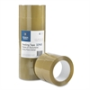 "Business Source Heavyweight Package Sealing Tape - 1.88"" Width x 54.67 yd Length - 3"" Core - Pressure-sensitive Poly - 3.54 mil - 6 / Pack - Tan"