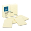 "Ruled Adhesive Note - 4"" x 6"" - Rectangle - Ruled - Yellow - Solvent-free Adhesive, Self-adhesive - 12 / Pack"