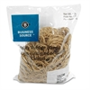 "Business Source Quality Rubber Bands - Size: #12 - 1.75"" Length x 1.06"" Width - Sustainable - 2500 / Pack - Rubber - Crepe"