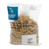 "Business Source Quality Rubber Band - Size: #19 - 3.50"" Length x 62.5 mil Width - Sustainable - 1250 / Pack - Rubber - Crepe"