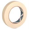"Business Source Masking Tape - 0.75"" Width x 60 yd Length - 3"" Core - Crepe Paper Backing - 1 / Roll - Tan"
