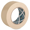 "Business Source Masking Tape - 2"" Width x 60 yd Length - 3"" Core - Crepe Paper Backing - 1 / Roll - Tan"