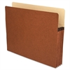 "Accordion Expanding File Pocket - Letter - 8 1/2"" x 11"" Sheet Size - 3 1/2"" Expansion - Redrope - Redrope - Recycled - 25 / Box"