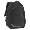 "Solo Vector Carrying Case (Backpack) for 16"" Notebook - Black - Polyester - Shoulder Strap, Handle - 19"" Height x 12"" Width x 7"" Depth"