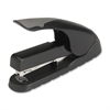 "Business Source Full-strip Effortless Stapler - 20 Sheets Capacity - 210 Staple Capacity - Full Strip - 1/4"", 5/16"" Staple Size - Black, Gray"