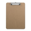 "Business Source Clipboard - 9"" x 12.50"" - Hardboard - Brown"