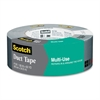 "Scotch Multi-Use Duct Tape - 1.88"" Width x 60 yd Length - 3"" Core - 1 Roll - Silver"