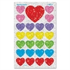 Trend Sparkling Heart-shaped Stickers - 100 Heart - Self-adhesive - Non-toxic, Acid-free, Photo-safe - Assorted - 100 / Pack