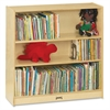"Jonti-Craft Adjustable Shelves Classroom Bookcases - 4 Compartment(s) - 48"" Height x 36.5"" Width x 12"" Depth - Wall Mountable - Wood Grain - Baltic Birch Plywood - 1Each"